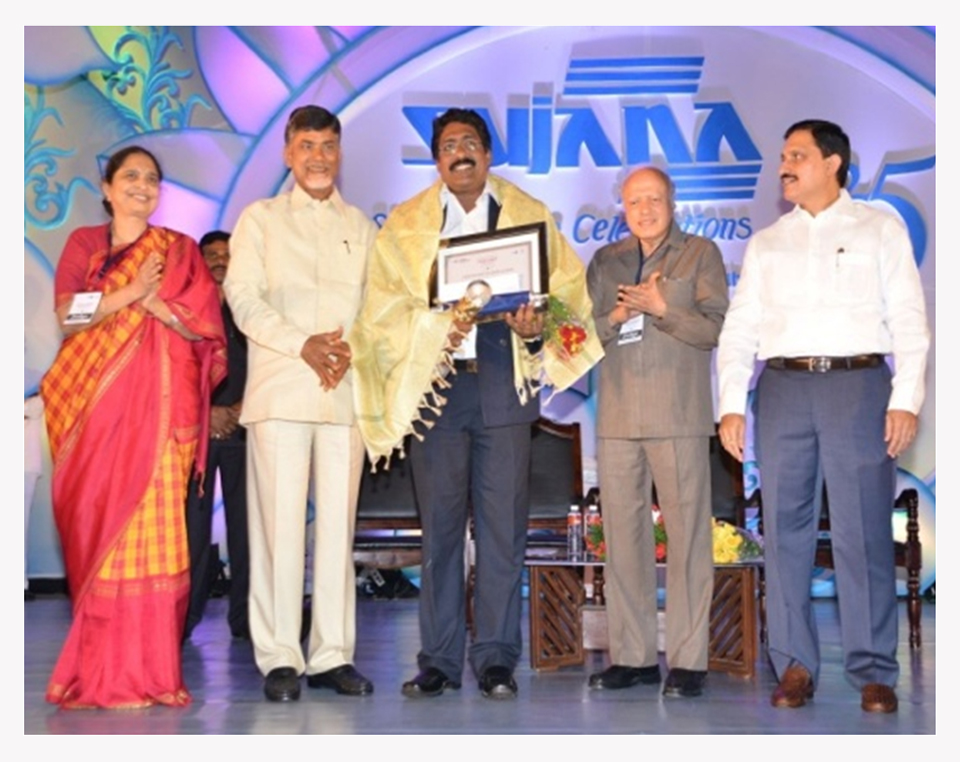 "Sujana Excellence Award in ""BEST EDUCATION / LITERACY"" category on 2012"